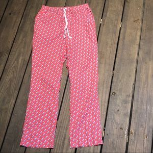 Men's XS vineyard vines sailboat print pj pants